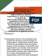 Organization Theory 2