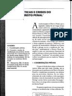 Hassemer Características e Crise do moderno direito penal - Pablo Rodrigo Alflen