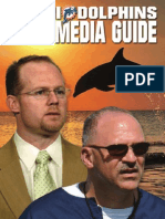 2008 Miami Dolphins Media Guide