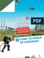 Guide exposant CSPNA 2011