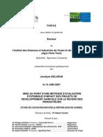 THESE - AGRO PARIS_-_Problématique_et_méthode