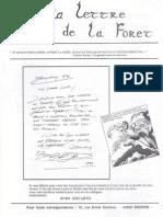 La lettera della foresta