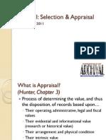 6615-Week II-Selection and Appraisal