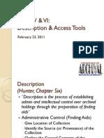 6615 Week V VI Access Tools