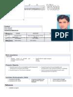 Resume of Shaukt
