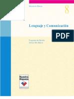 Lenguaje y Comunicacion 8°