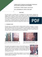 COMPORTAMIENTO SISMICO DE UN MURO DE ALBAÑILERIA CONFINADA CON INSTALACION SANITARIA EN SU INTERIOR