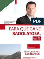 PSOE DE BADOLATOSA Y CORCOYA ELECCIONES 2011
