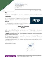 Declaración Base Temporal Scouts de Mundo -  Zona 12