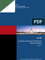 0706 - Australian Govt Architecture Ref Models V1.0 - AGIMO