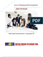 Mccs Training Catalog Final 2010