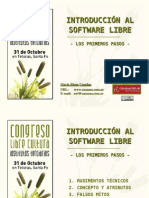 introduccion al Software Libre