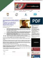 12-05-11 Si Kofanor no está aplicando el reglamento aplicaremos la Ley DossierPolitico