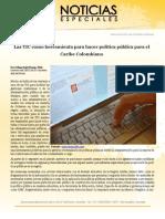 Las TIC como herramienta para hacer política pública para el Caribe Colombiano