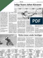 Zeitungsartikel Training Vohenstrauß