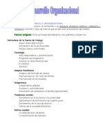 Desarrollo Organizacional Completo y Explicado