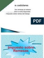 Impuestos Cedulares UCR I-2011 Presentac II