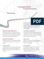 ASTRO25 Digital Trunking Solutions Brochure