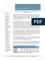 Analysis of the 2011 Social Security Trustees Report