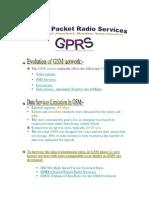 Gprs Final Report