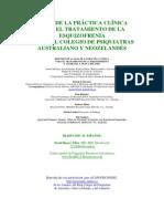 25 Guia Clinica Esquizofrenia Nueva Zelanda Resumen