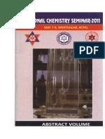 Abstract Book _Regional Chemistry Seminar_2011