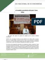 13-05-11 Ha fracasado el modelo económico del país