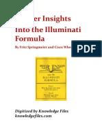 Springmeier & Wheeler - Deeper Insights Into the Illuminati Formula - V2