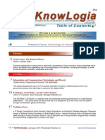 Techknowlogia Journal 2001 July August