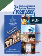 South Australian Northern Territory Freemason March 2011