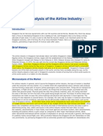 Economic Analysis of the Airline Industry