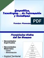 Geopolitica y Socialismo Bolivariano - Francisco Mannuzza