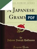 A Japanese Grammar - 9781440081569