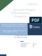 Proyecto Manual Proyectos