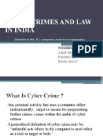 Cyber Crimes and Law in India