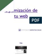 Optimización de la web