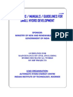 Guidelines for Maintenance of Civil Works