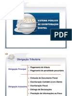 Apresentação EFD - PIS.COFINS