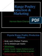 Free Range Poultry Production From Farm to Consumer