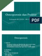 Patologi Anatomi Slide Osteoporosis Dan Fraktur