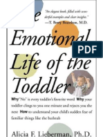 The Emotional Life of the Toddler - Alicia Lieberman
