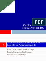 CajamarcaUnClusterMinero_PresentaciónCorta