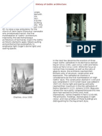 History of Gothic Architecture