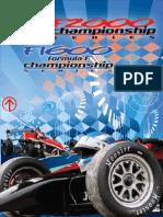 brochure for racing