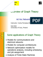 Overview of Graph Theory