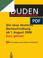 Duden Die Neue Deutsche Rechtschreibung Kurz Gefasst