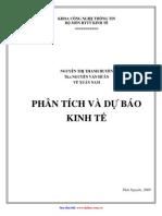 Bai Giang Phan Tich DL Va Du Bao KT- Nguyen Thi Thanh Huyen- KinhTe-0004