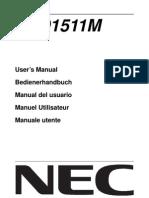 My Lcd Monitor Userguide Lcd1511m Alllang