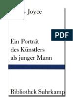 Joyce, James - Ein Porträt des Künstlers als junger Mann