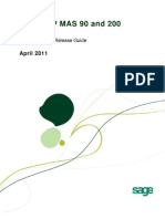 Sage ERP MAS 90 and 200 4 5 Pre-Release Guide - April 2011